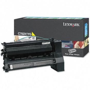 Lexmark Toner-Kartusche Kartonage gelb High-Capacity plus (C782X1YG)