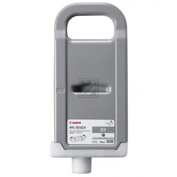 Canon Tintenpatrone grau High-Capacity (0909B005, PFI-701GY)