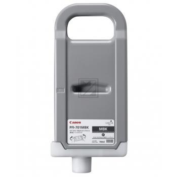Canon Tintenpatrone schwarz matt High-Capacity (0899B005, PFI-701MBK)