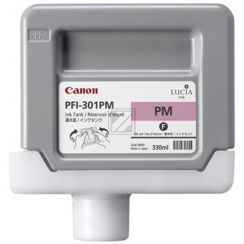 Canon Tintenpatrone Photo-Tinte Photo magenta (1491B001, PFI-301PM)