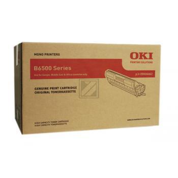 Original OKI 09004462 / B6500 Toner Schwarz XXL