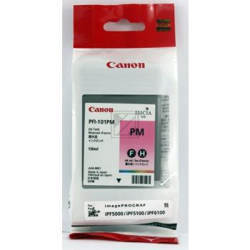 Canon Tintenpatrone Photo-Tinte Pigmentierte Tinte Photo magenta (0888B001, PFI-101PM)