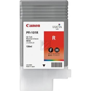 Canon Tintenpatrone Pigmentierte Tinte rot (0889B001, PFI-101R)