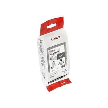 Canon Tintenpatrone Pigmentierte Tinte grau (0892B001, PFI-101GY)