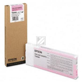 Epson Tintenpatrone magenta light High-Capacity(C13T565600 C13T606600, T6066)