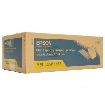 Epson Toner-Kit gelb High-Capacity (C13S051158, 1158)