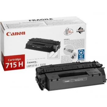Canon Toner-Kartusche schwarz High-Capacity (1976B002, 715H)