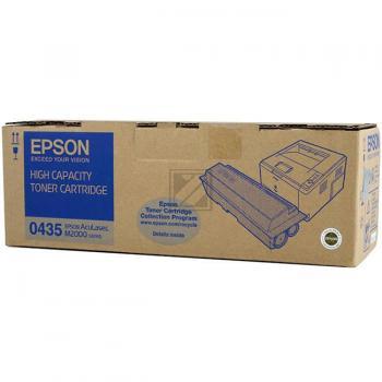 Epson Toner-Kartusche schwarz High-Capacity (C13S050435, 0435)