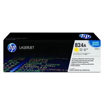 Hewlett Packard Toner-Kit gelb (CB382A, 824A)