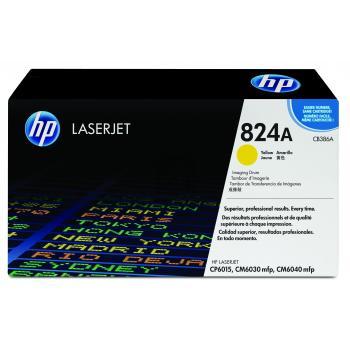 Hewlett Packard Fotoleitertrommel gelb (CB386A, 824A)