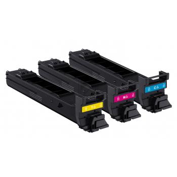 Minolta Toner-Kit gelb cyan magenta High-Capacity (A0DKJ52)