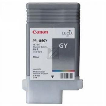 Canon Tintenpatrone grau (2213B001, PFI-103GY)