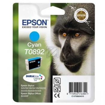 Epson Tintenpatrone cyan (C13T08924011, T0892)