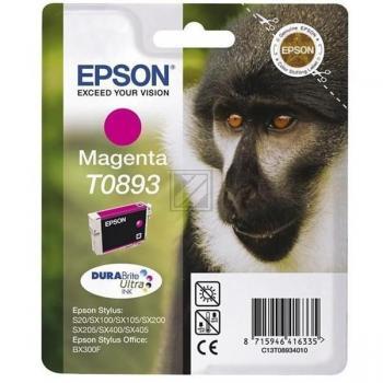 Epson Tintenpatrone magenta (C13T08934011, T0893)
