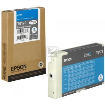 Epson Tintenpatrone cyan High-Capacity (C13T617200, T6172)
