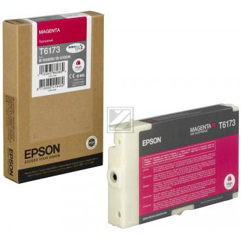 Epson Tintenpatrone magenta High-Capacity (C13T617300, T6173)
