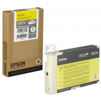 Epson Tintenpatrone gelb High-Capacity (C13T617400, T6174)