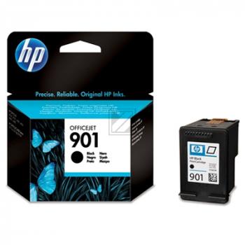 Hewlett Packard Tintenpatrone schwarz (CC653AE, 901)