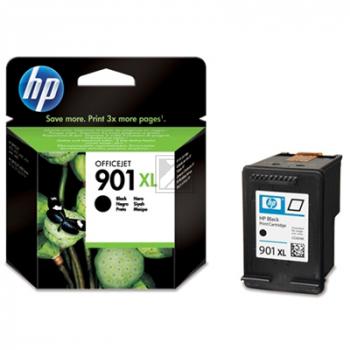 Hewlett Packard Tintenpatrone schwarz High-Capacity (CC654AE, 901XL)