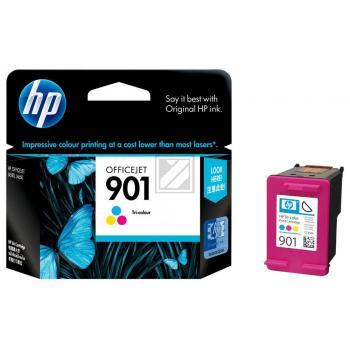 Hewlett Packard Tintenpatrone cyan/gelb/magenta (CC656AE, 901)