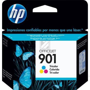 HP Tintendruckkopf cyan/gelb/magenta (CC656AE, 901)