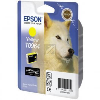 Epson Tintenpatrone gelb (C13T09644010, T0964)