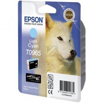 Epson Tintenpatrone cyan light (C13T09654010, T0965)