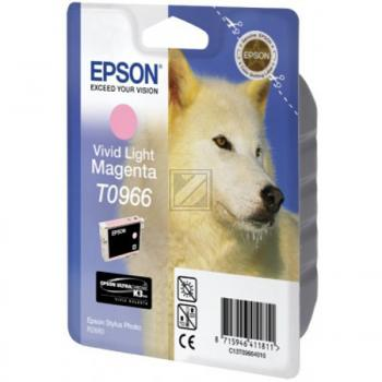 Epson Tintenpatrone magenta light (C13T09664010, T0966)