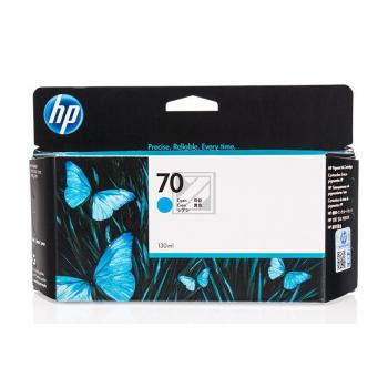 Hewlett Packard Tintenpatrone cyan (C9452A, 70)
