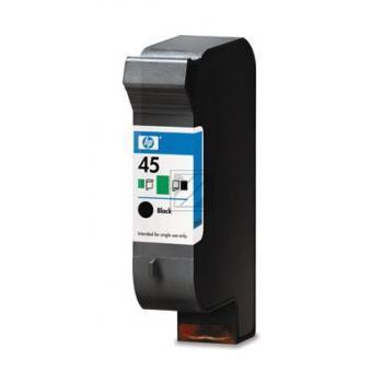 Hewlett Packard Tintendruckkopf schwarz High-Capacity (51645AE, 45)
