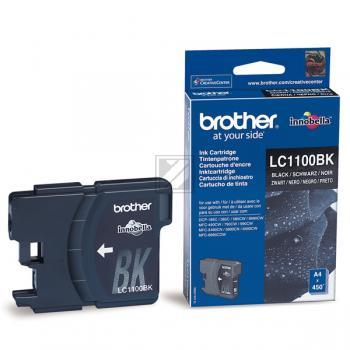 Brother Tintenpatrone schwarz (LC-1100BK)