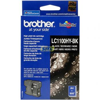 Brother Tintenpatrone schwarz HC (LC-1100HYBK)
