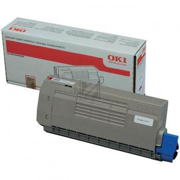 OKI Toner-Kit magenta (43866106 44318606)