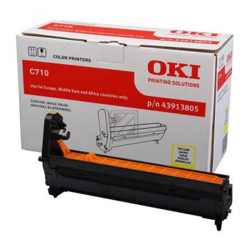 OKI Fotoleitertrommel gelb (43913805)
