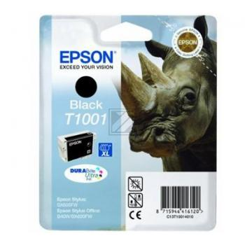 Epson Tintenpatrone schwarz (C13T10014010, T1001)
