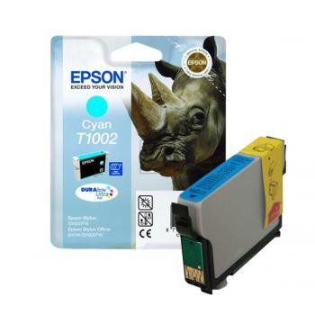 Epson Tintenpatrone cyan (C13T10024010, T1002)