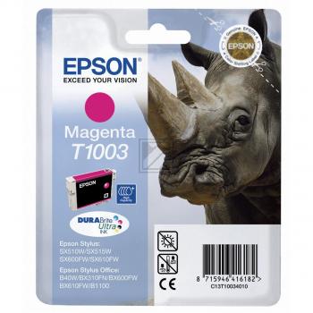 Epson Tintenpatrone magenta (C13T10034010, T1003)