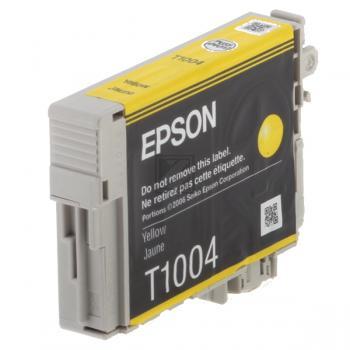 Epson Tintenpatrone gelb (C13T10044010, T1004)