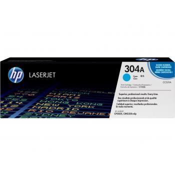 Hewlett Packard Toner-Kartusche cyan (CC531A, 304A)