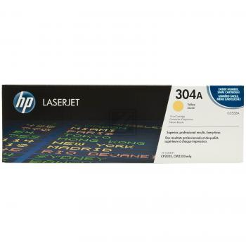 Hewlett Packard Toner-Kartusche gelb (CC532A, 304A)