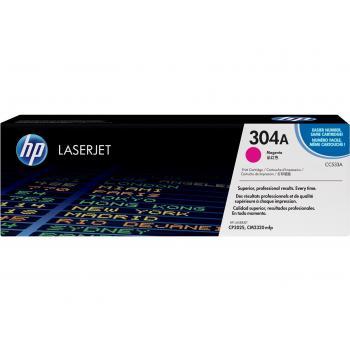 Hewlett Packard Toner-Kartusche magenta (CC533A, 304A)