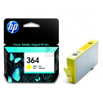 Hewlett Packard Tintenpatrone gelb (CB320EE, 364)