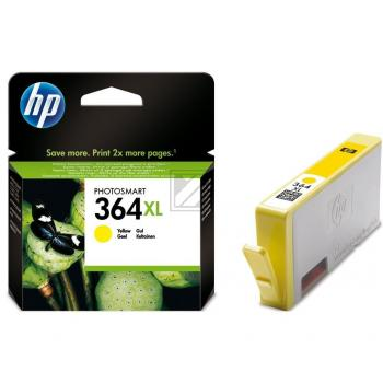 Hewlett Packard Tintenpatrone gelb High-Capacity (CB325EE, 364XL)