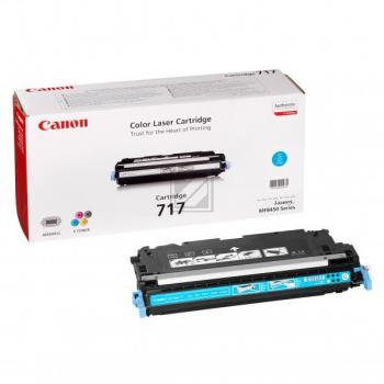 Canon Toner-Kartusche cyan (2577B002, 717)