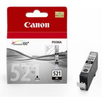 Canon Tintenpatrone Photo-Tinte schwarz (2933B001, CLI-521BK)