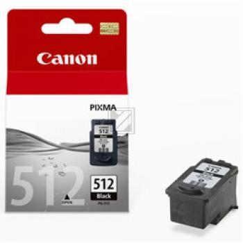 Canon Tintenpatrone schwarz High-Capacity (2969B001, PG-512)