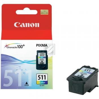 Canon Tintenpatrone 3-farbig (2972B001, CL-511)