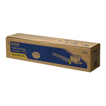 Epson Toner-Kit gelb (C13S050474, 0474)