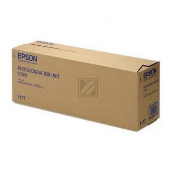 Original Epson C13S051177 / S051177 Bildtrommel Cyan