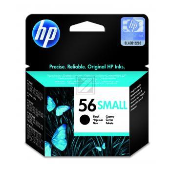 Hewlett Packard Tintenpatrone schwarz Low-Capacity (C6656GE, 56S)